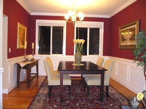 Home Staging Dining Room 2